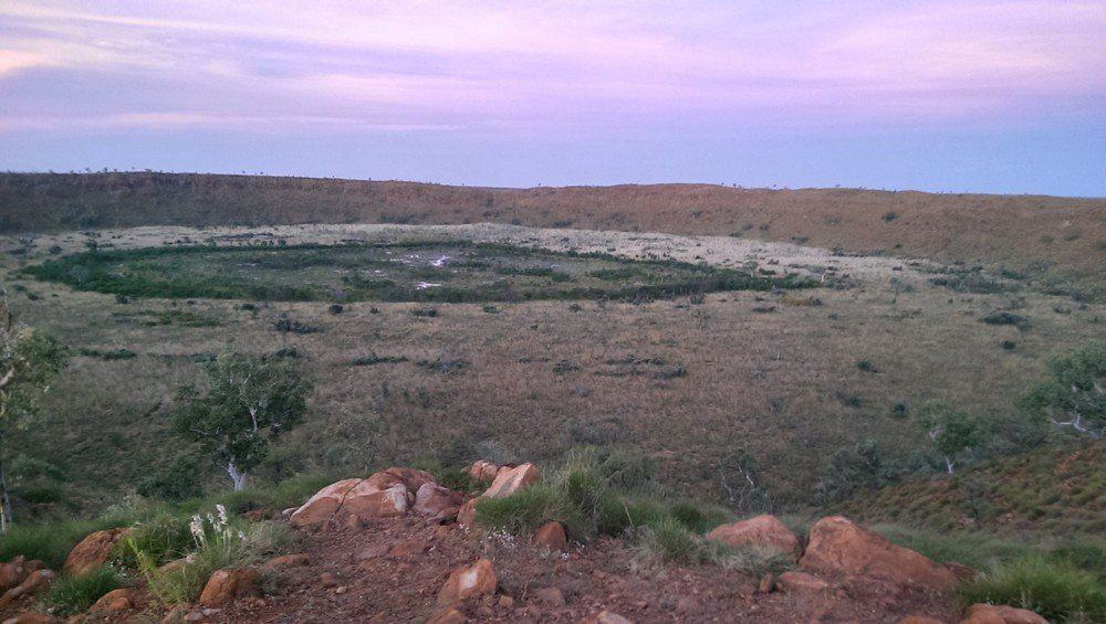 Impact Craters to Visit: Wolfe Creek Meteorite