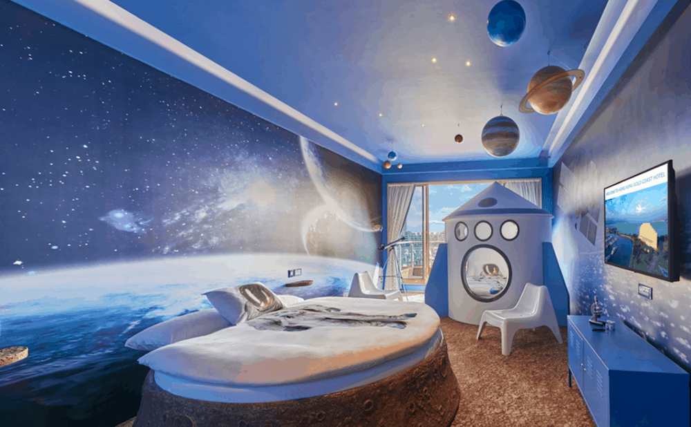 13 Space Themed Hotels Amp Suites Right Here On Earth