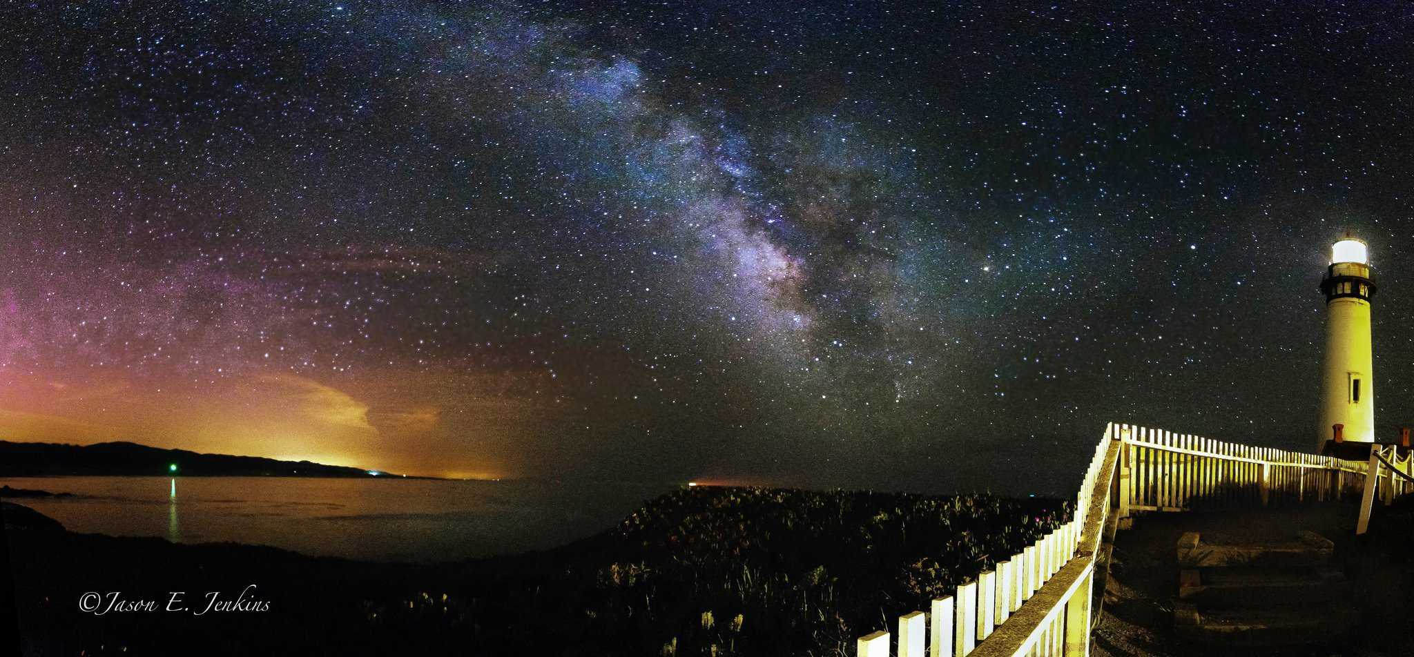 Stargazing Near San Francisco along the Pacific Coast: Pigeon Point