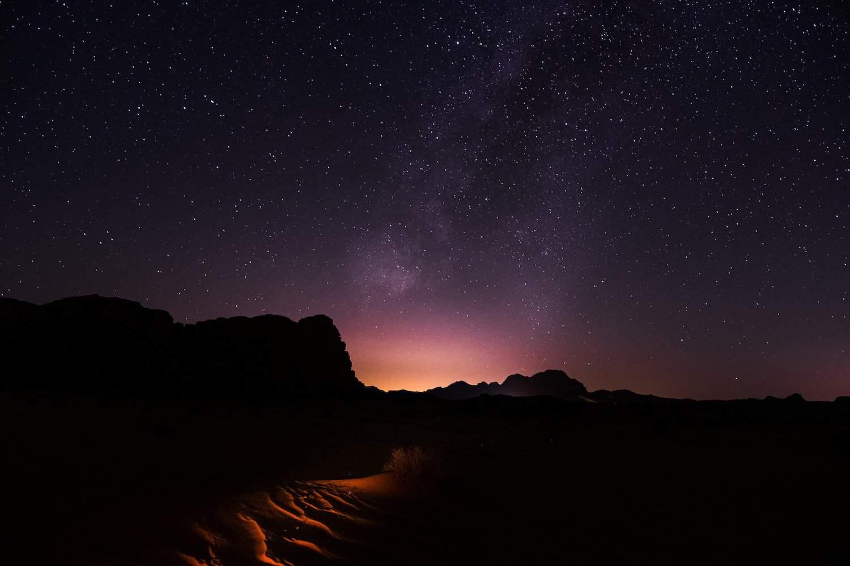 Stargazing in Jordan: Wadi Rum