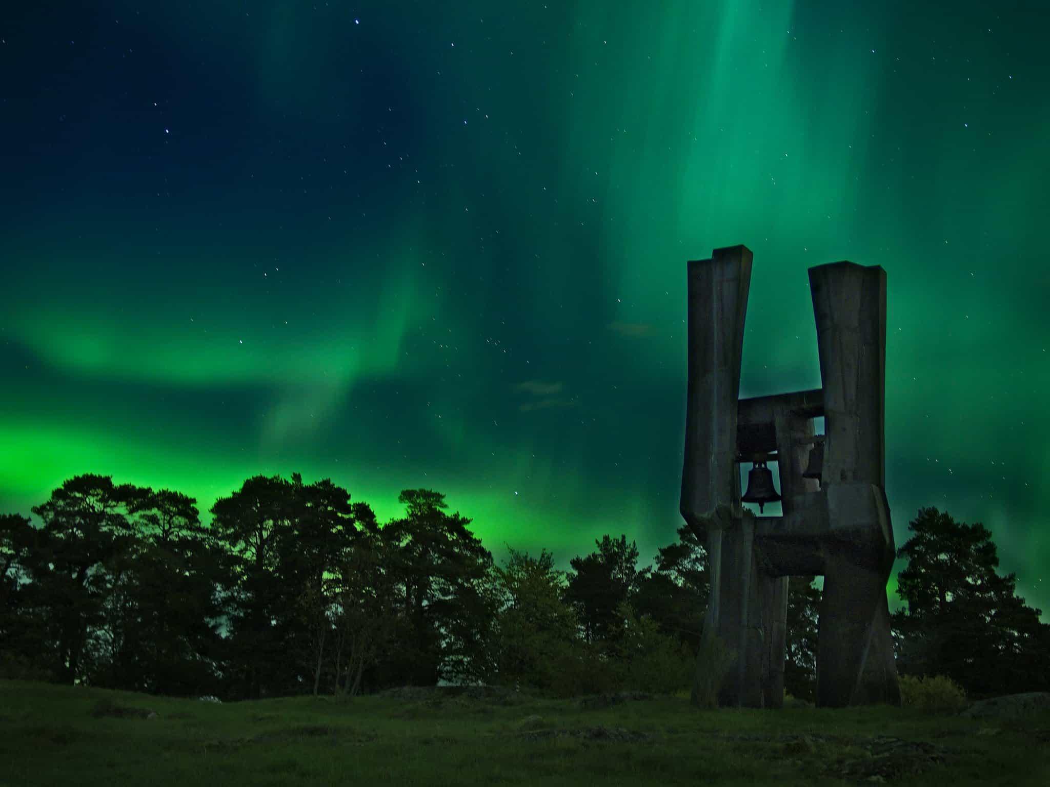 Norhern Lights in Sweden - Thomas Fabian via Flickr