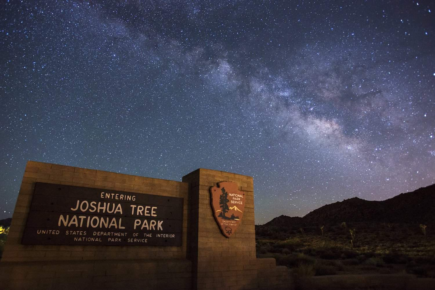 Stargazing in Joshua Tree National Park - NPS/Lian Law