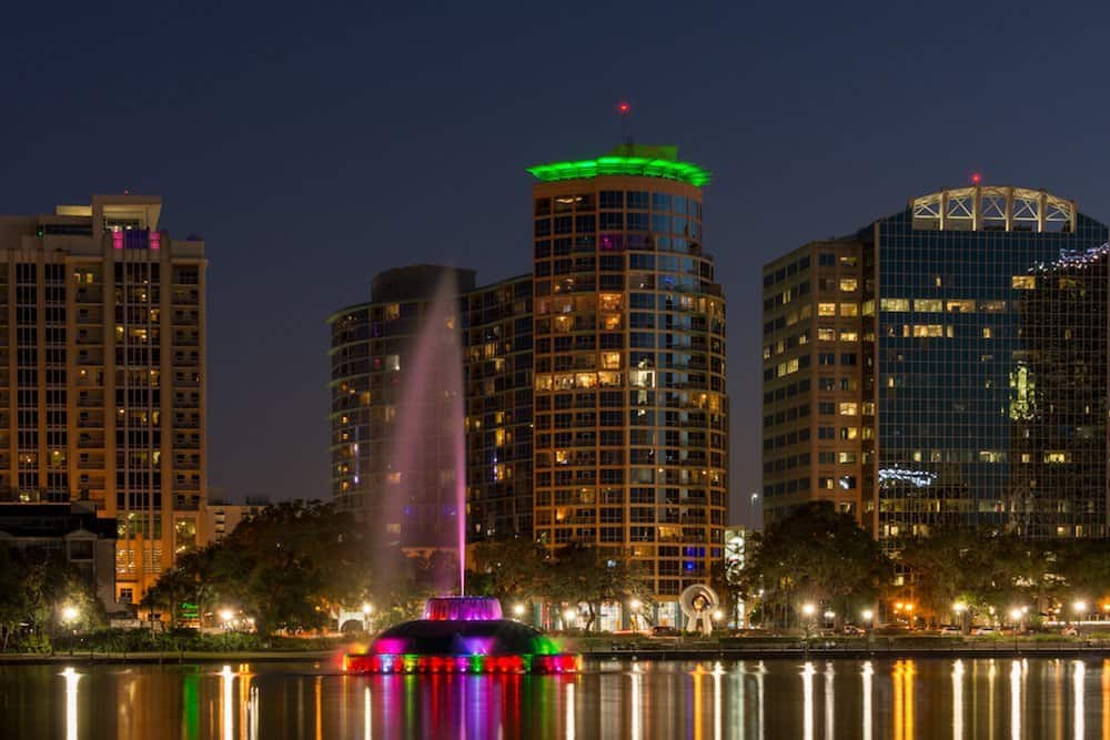 Stargazing in Orlando - Downtown Orlando at Night - Eric Lopez via Flickr