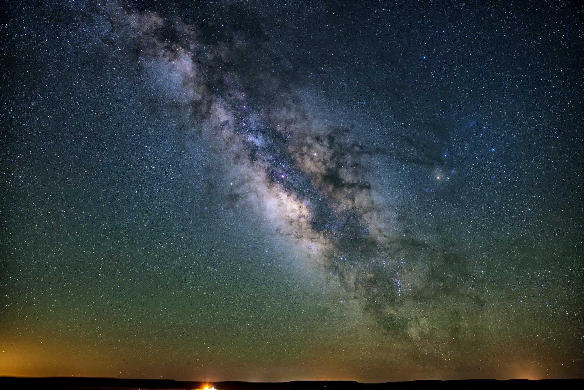 Stargazing near Albuquerque - John Fowler via Flickr 2