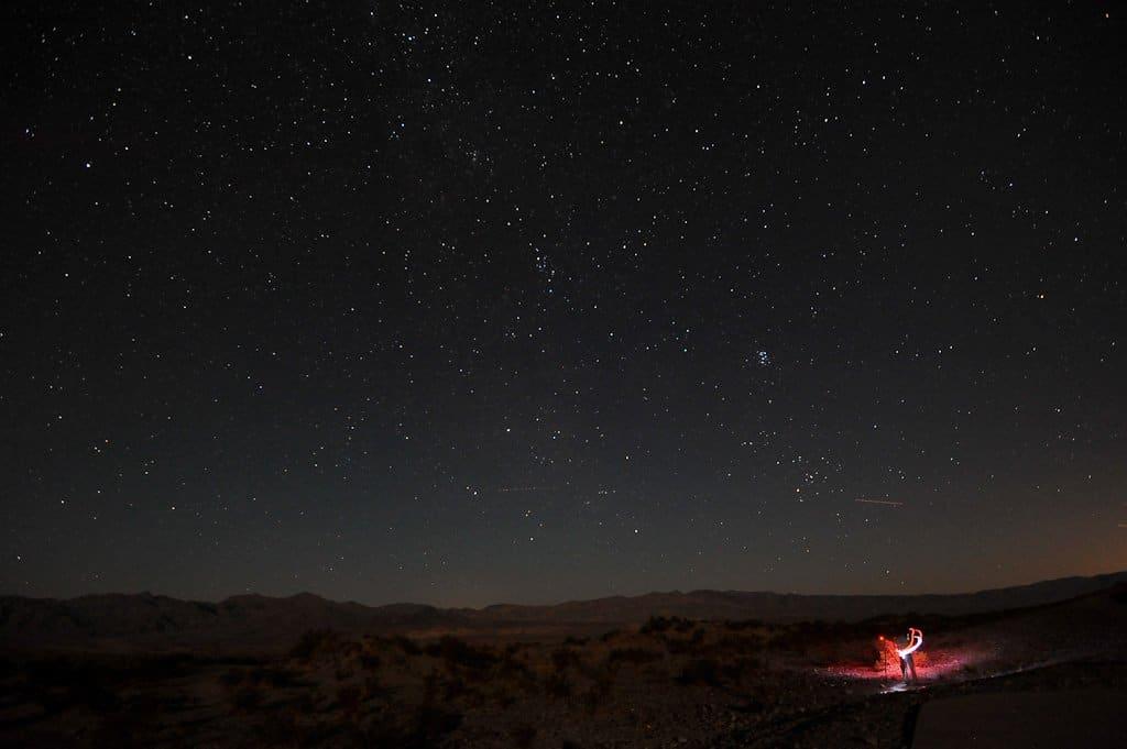 Stargazing near Las Vegas - John Buie via Flickr
