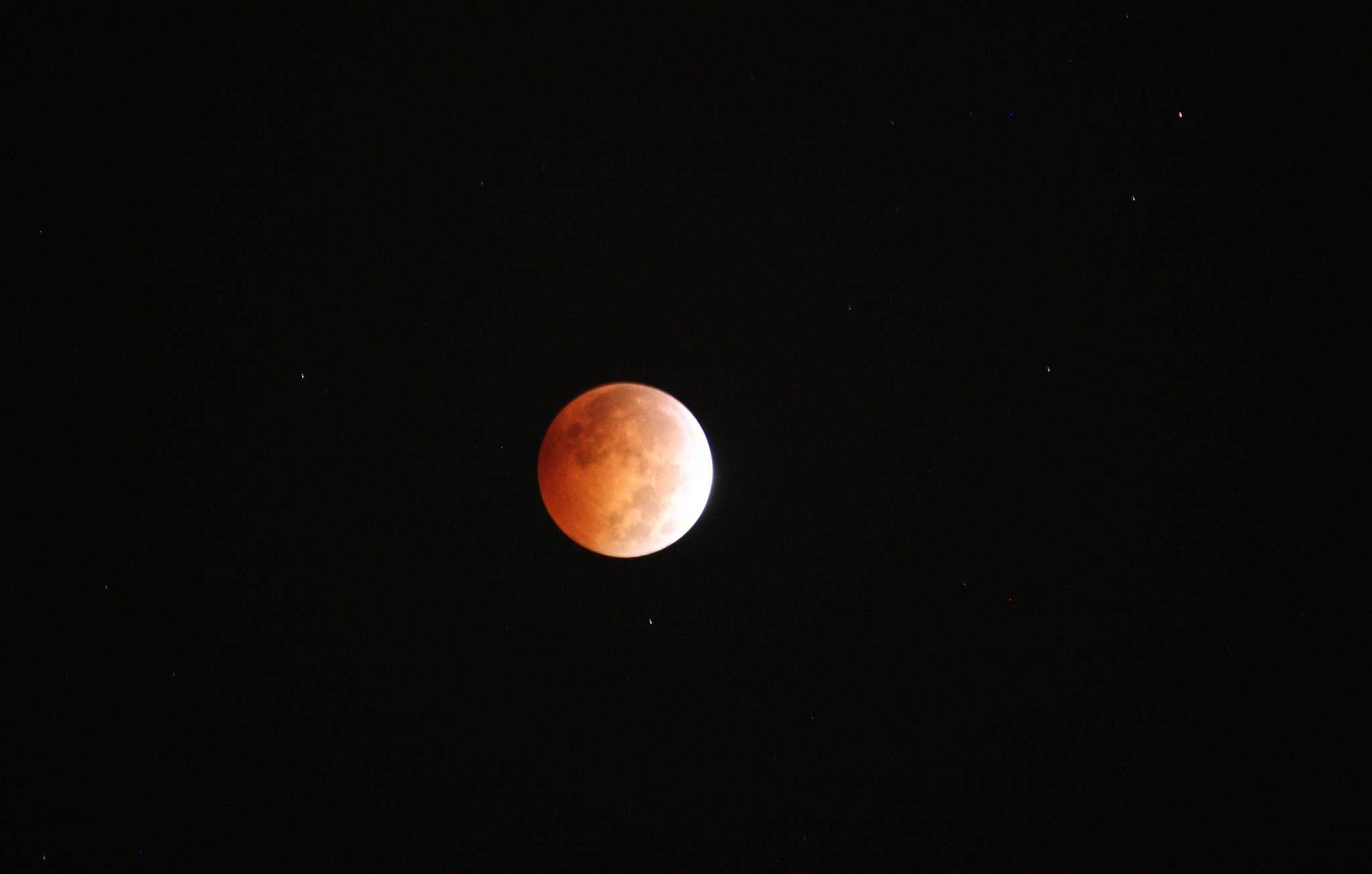 2019 Lunar Eclipse - US Army Corps of Engineers via Flickr