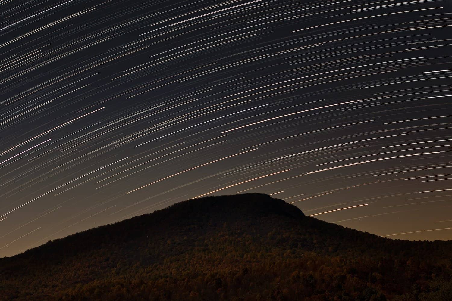 Stargazing in the Blue Ridge Mountains - tackyshack via Flickr