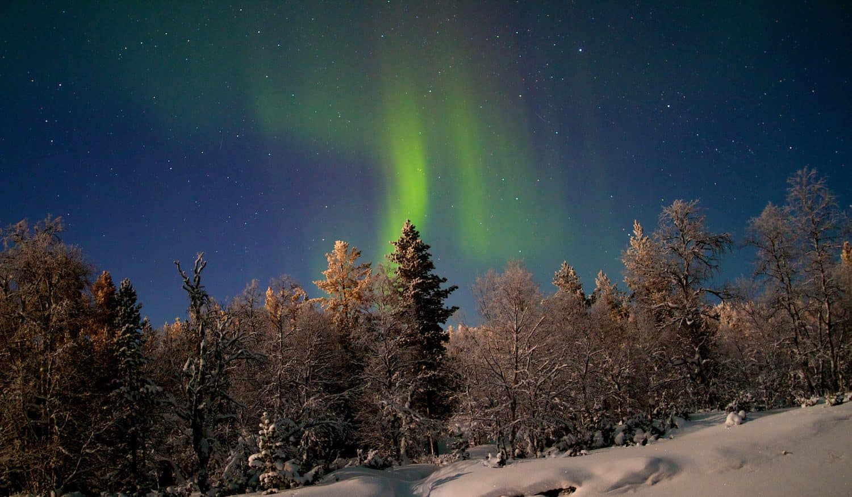 Northern Lights in Finland - Saariselkä - Paul Williams via Flickr