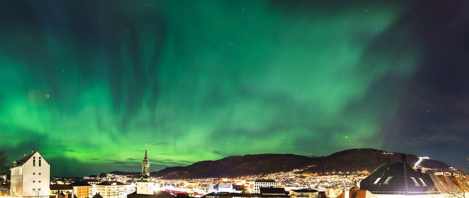 Northern Lights in Norway - Bergen