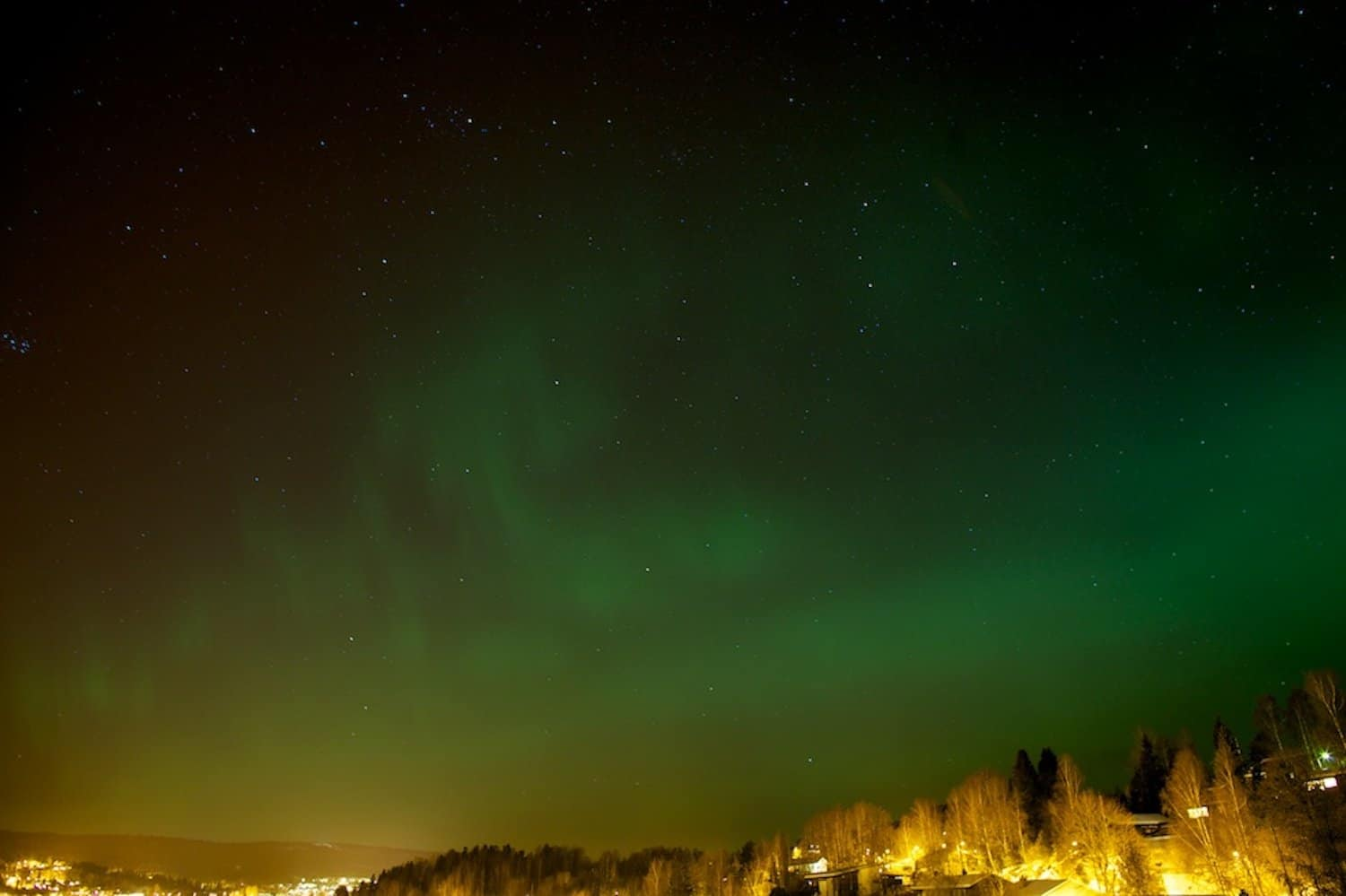 Northern Lights in Norway - Oslo