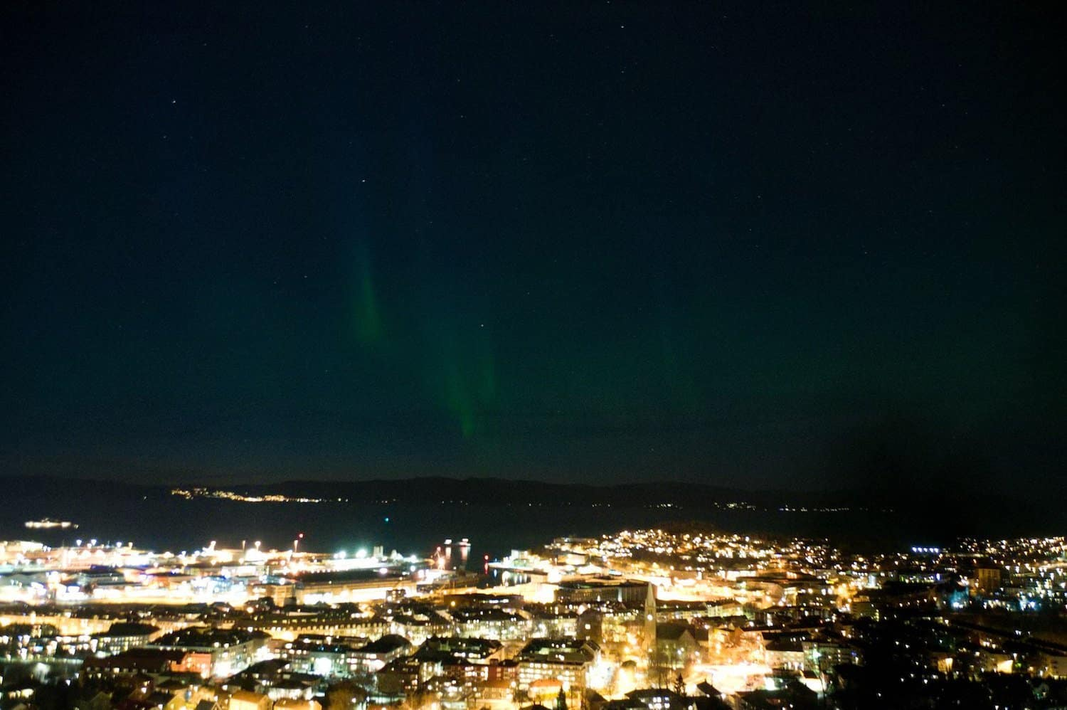 Northern Lights in Norway - Trondheim