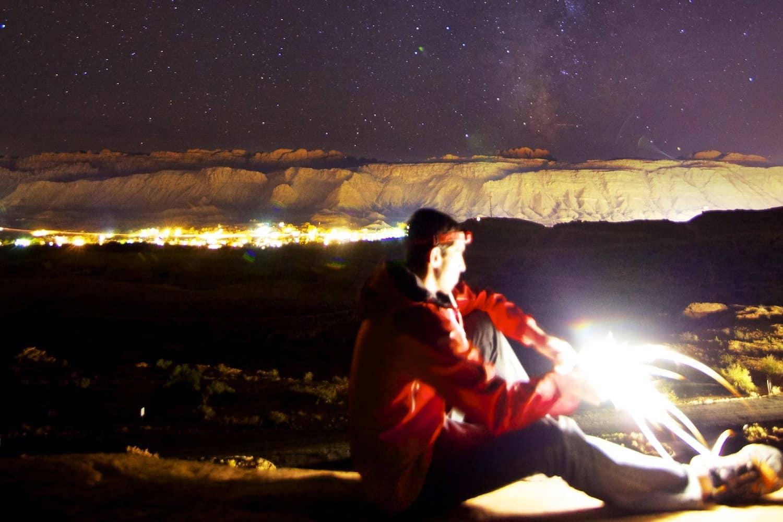 Stargazing near Salt Lake City - Zach Dischner via Flickr