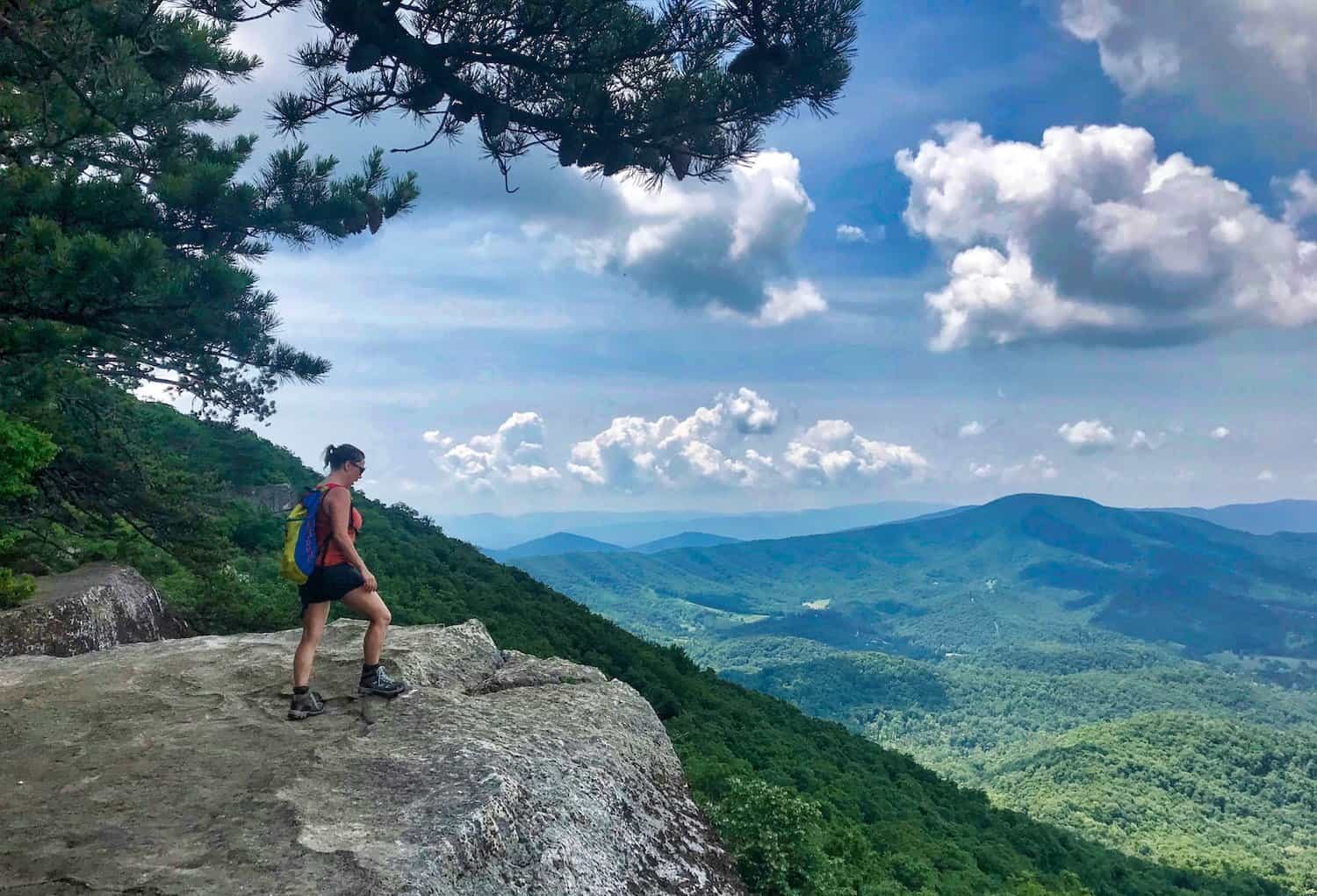 Virginia's Blue Ridge - Hiking at the Tinker Cliffs