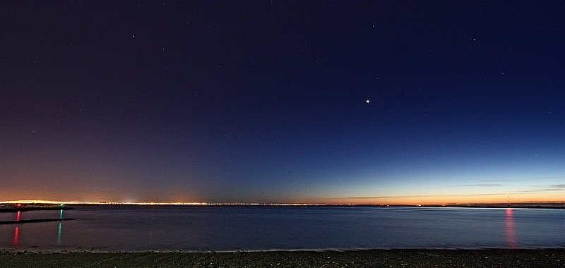 Night Sky Events February - Venus - Helgi Halldórsson via Flickr