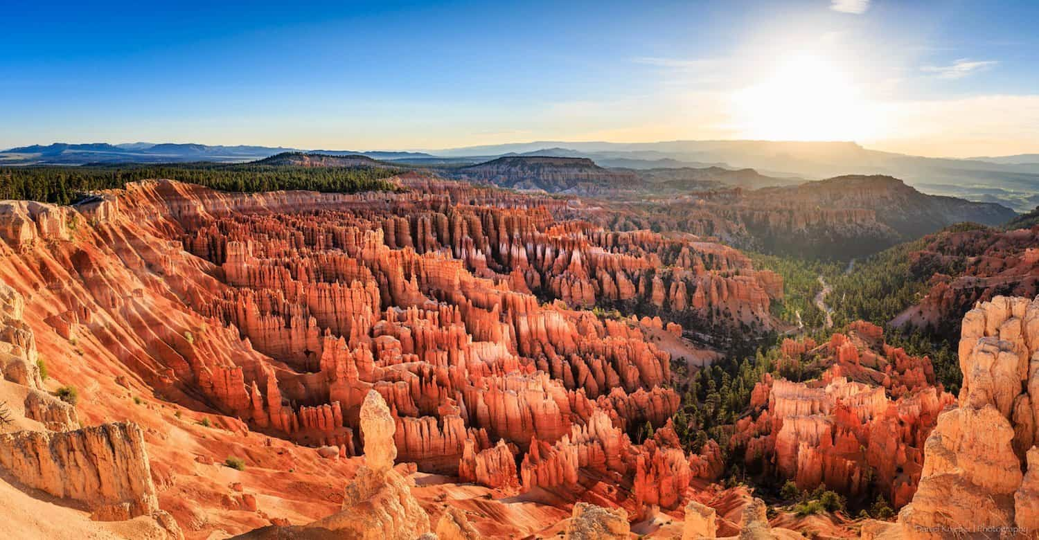 Bryce Canyon National Park - Inspiration Point at Sunrise