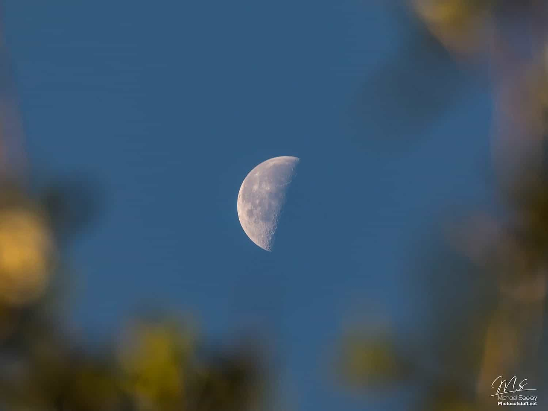 Night Sky October - Last Quarter Moon - Michael Seeley via Flickr