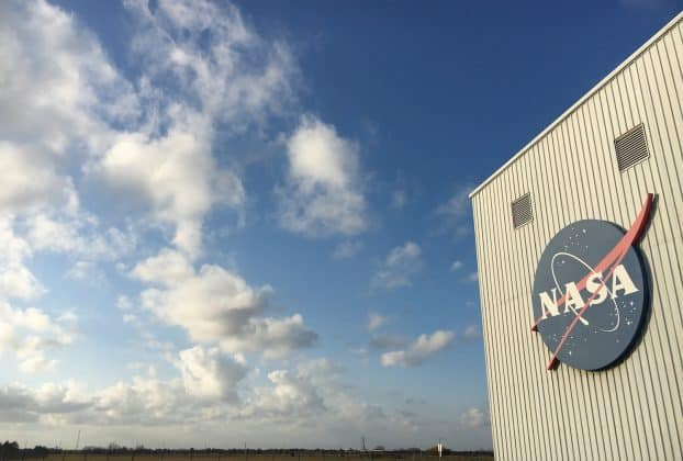 Exterior of Building at Johnson Space Center