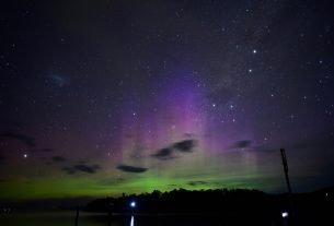 Southern Lights in Australia - will standring via Flickr