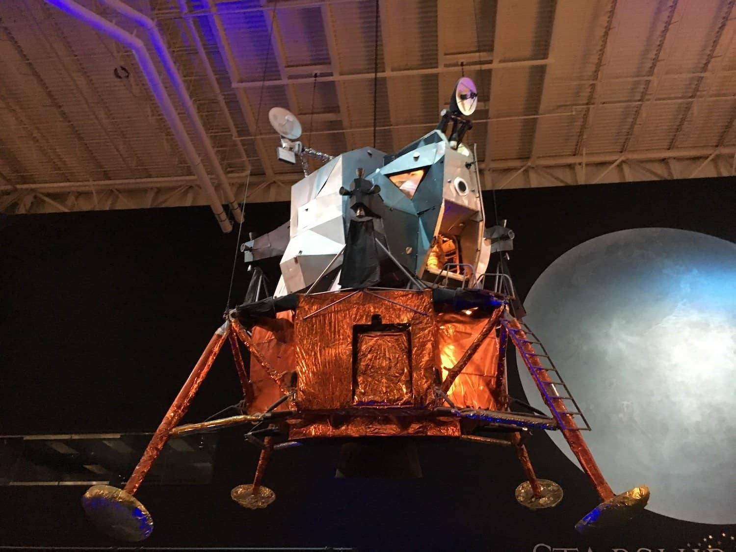 Lander at Space Center Houston