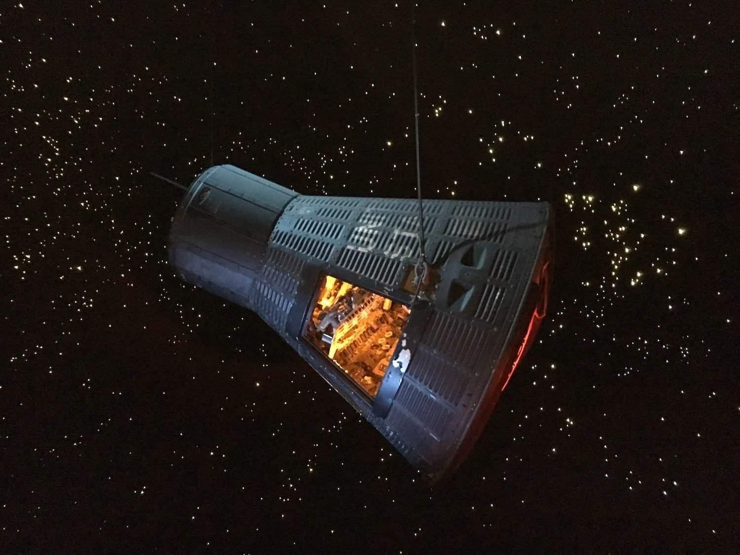 Mercury Capsule at Space Center Houston