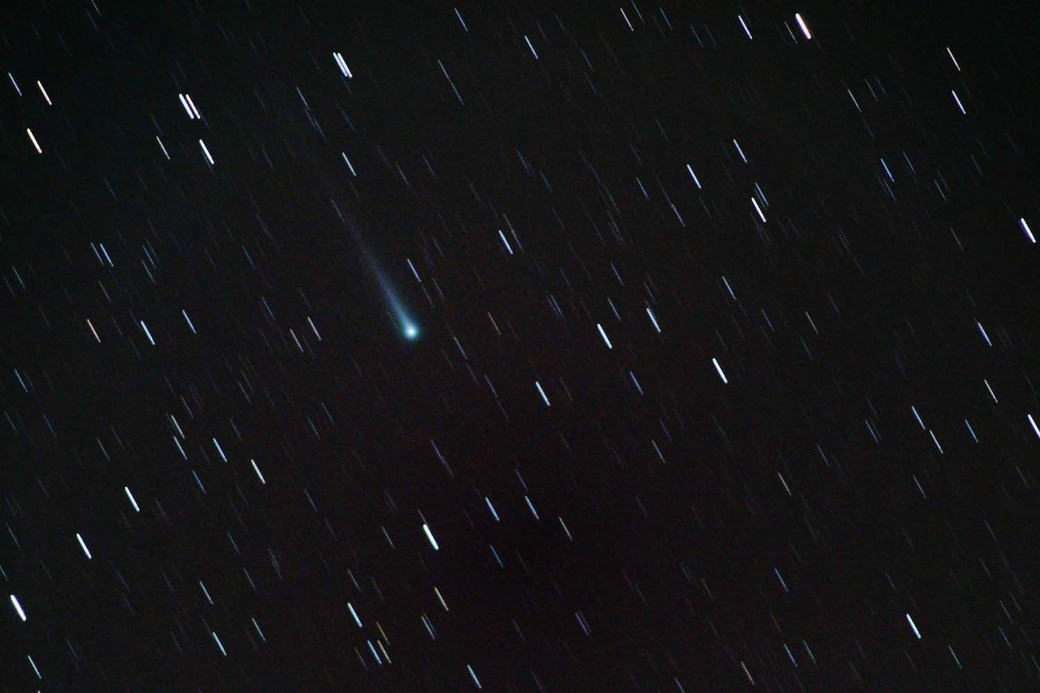 Night Sky December - Comet - theilr via Flickr