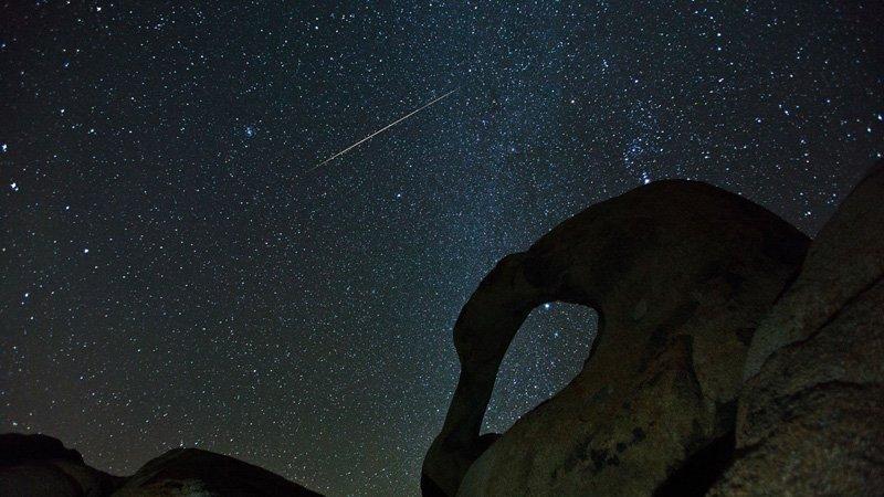 Night Sky December - Geminids - Henry Lee via Flickr