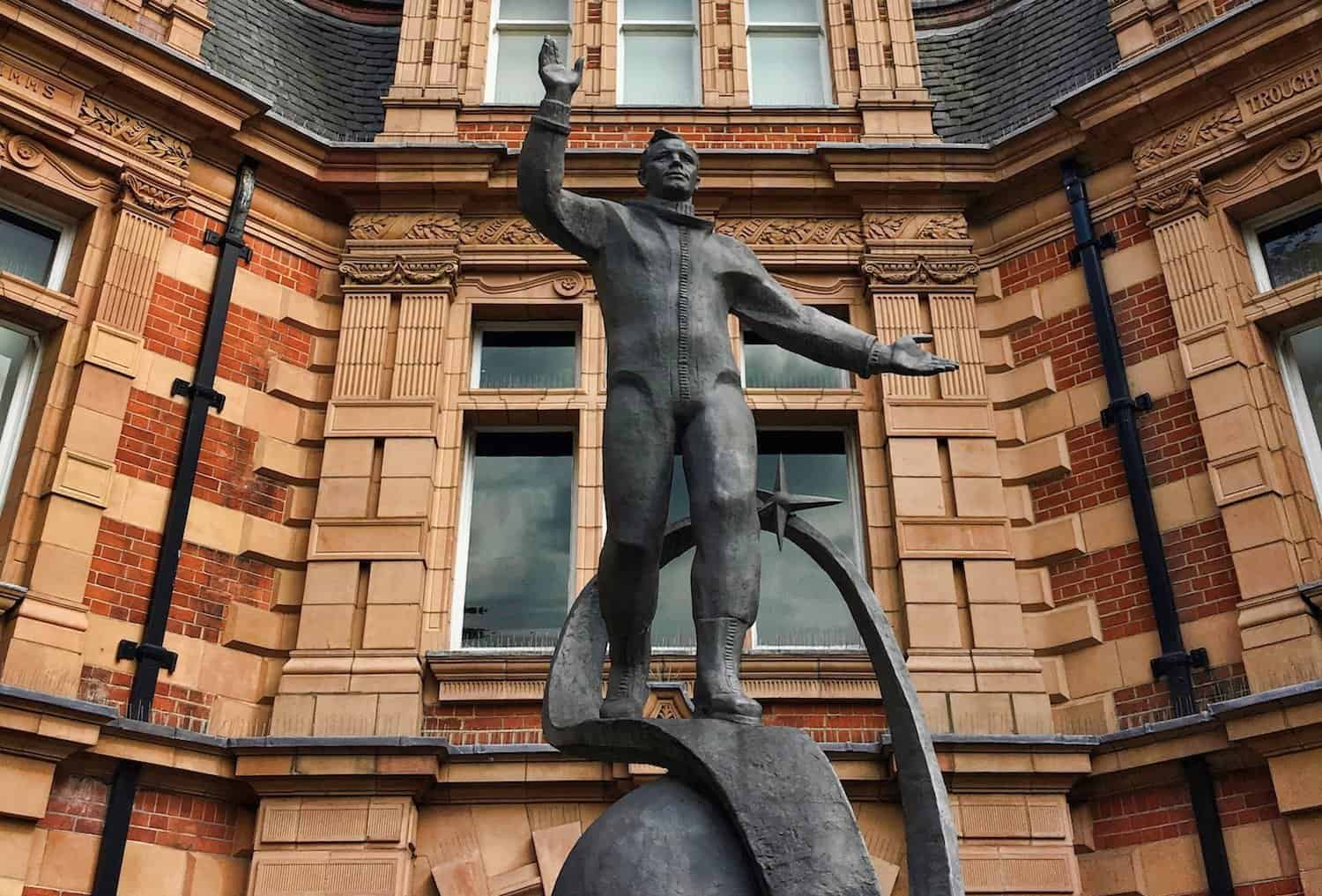Royal Observatory Greenwich - Gagarin Statue