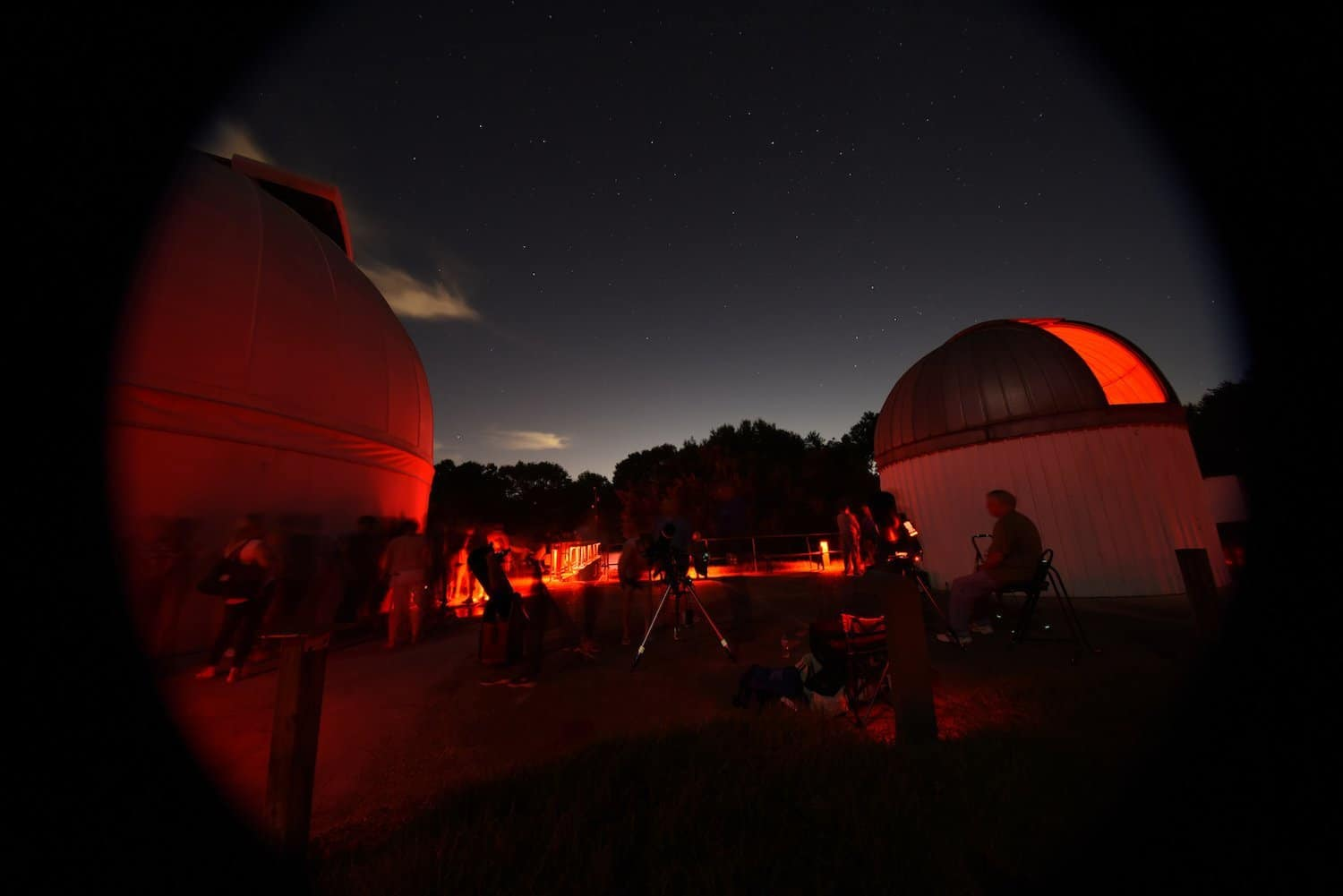 Stargazing in Houston - The George Observatory - geojoetx via Flickr