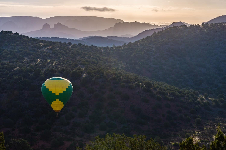 Stargazing in Sedona: Hot Air Ballooning