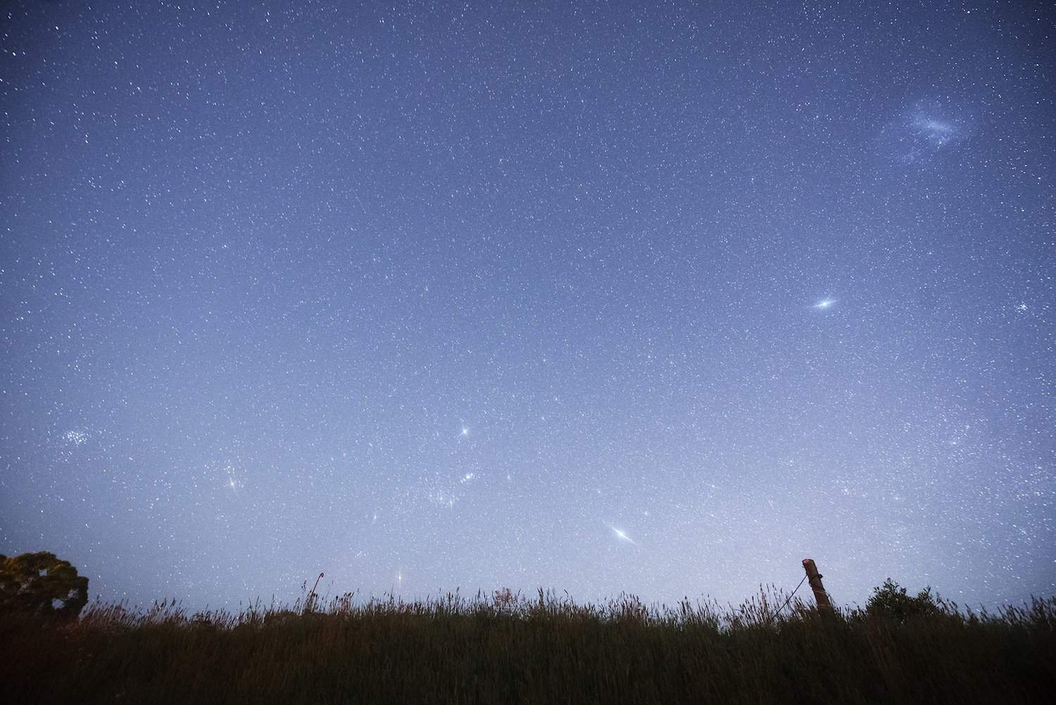 Night Sky in January - M41 - cafuego via Flickr