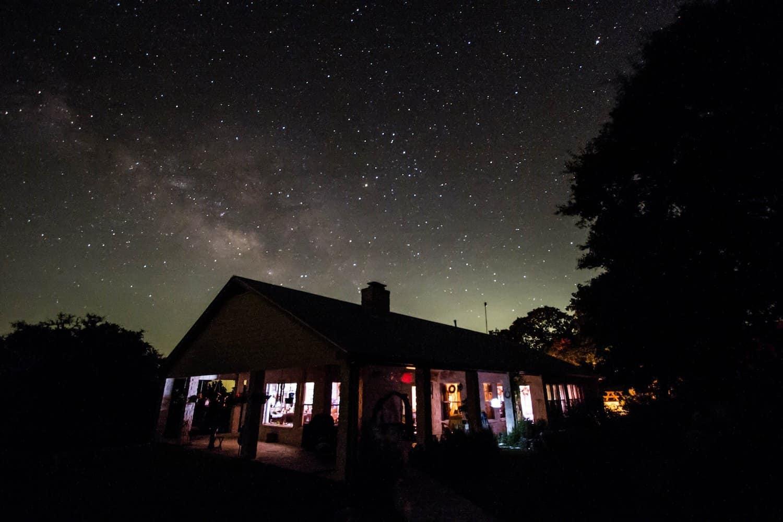Stargazing near Dallas
