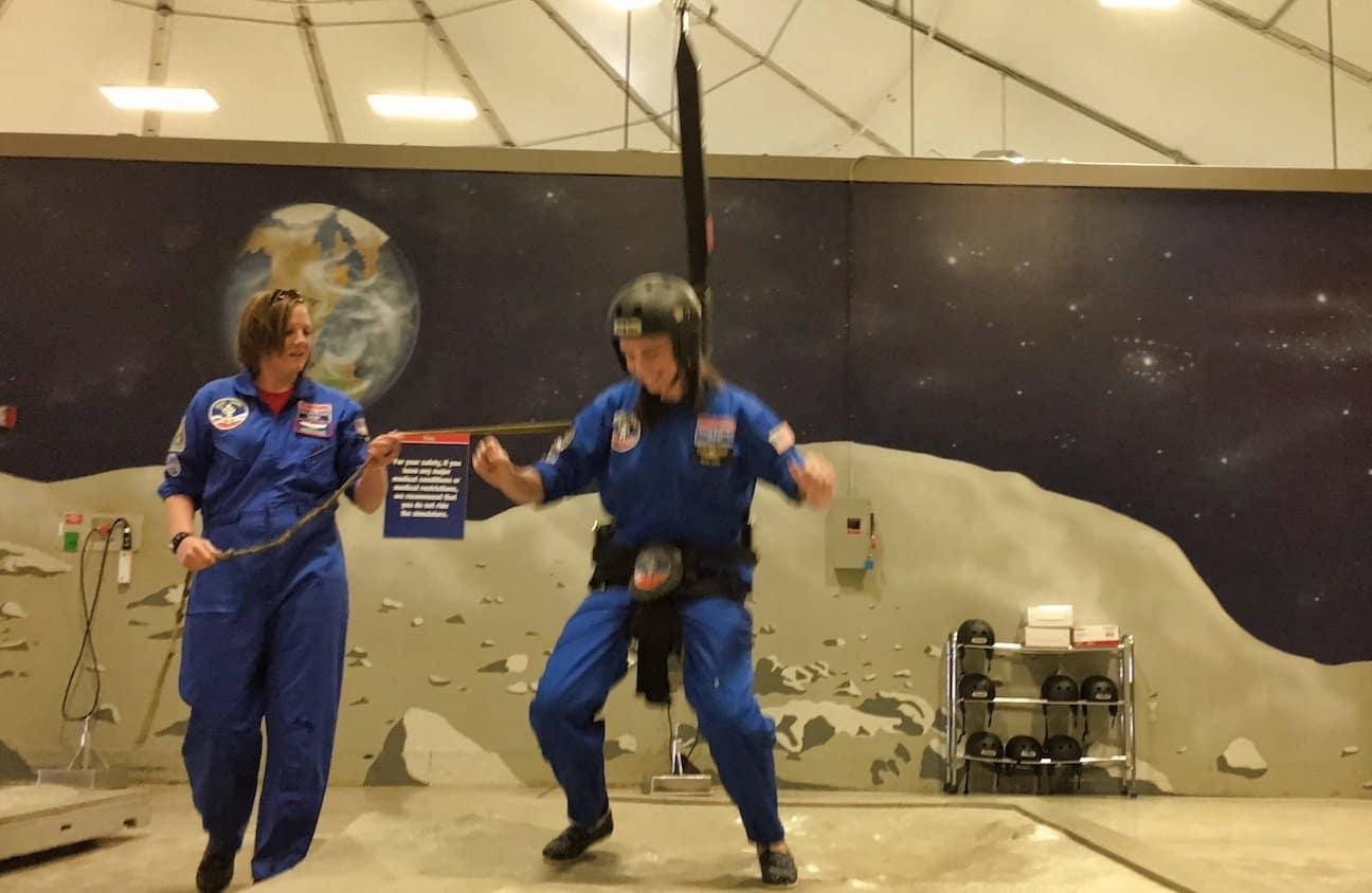 Space Camp - Moon Gravity Sim