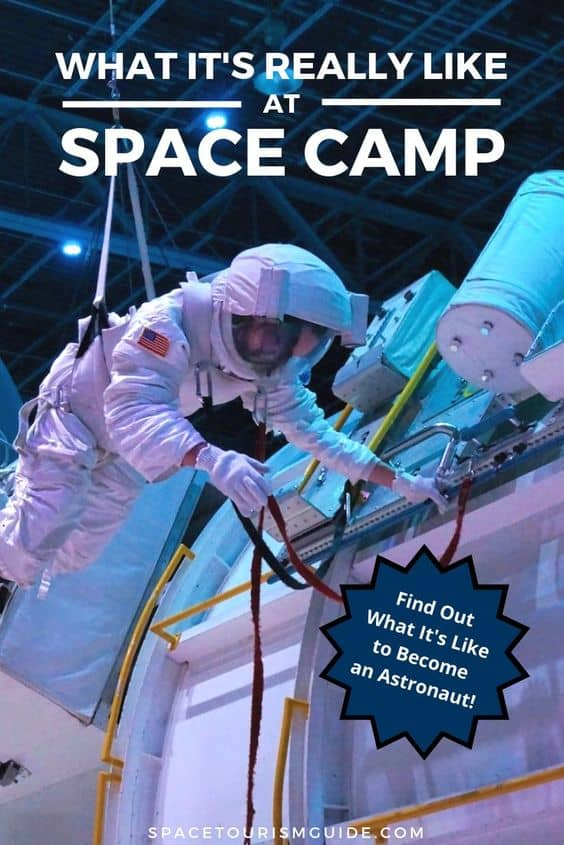 Curious what it's really like at Space Camp in Huntsville, Alabama? Learn about the activities and experiences you can have at space camp. Also discover how Space Camp allows children and adults to learn about NASA Astronaut training and inspires the next generation to go into the STEM fields. #NASA #space #travel