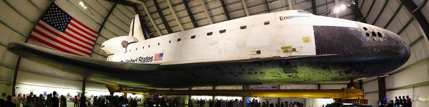 Space Shuttle Endeavour - Kevin Gill via Flickr
