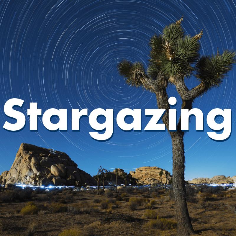 how to go stargazing