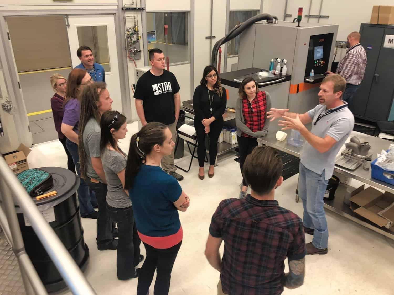 NASA Marshall - 3D Lab - NASA Social 2