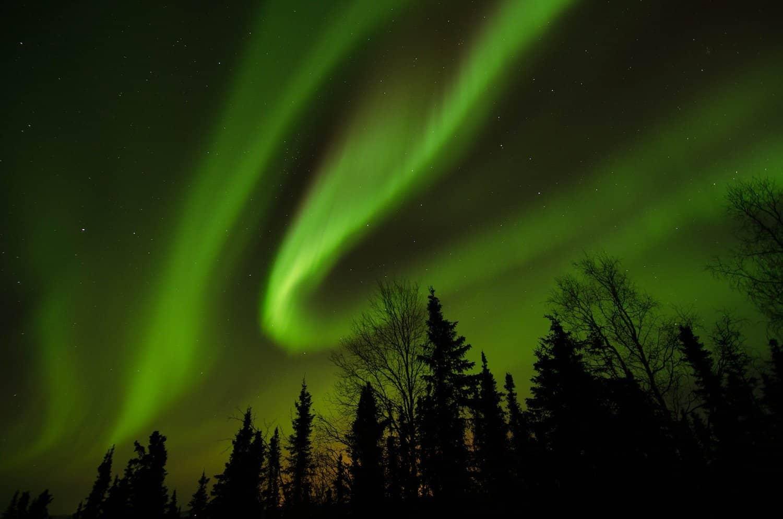 Northern Lights in Alaska - Wickersham Dome - FairbanksMike via Flickr