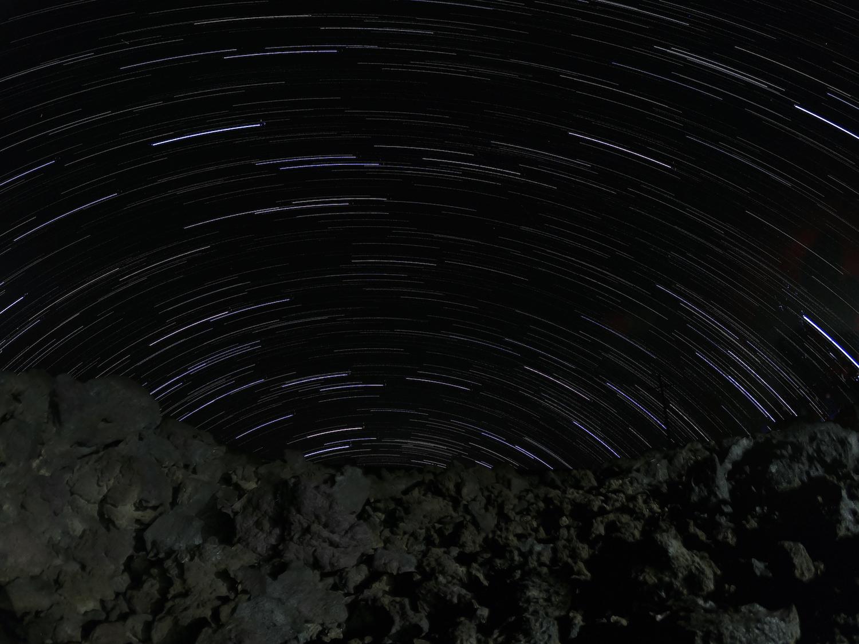 Star Trail - Mauna Loa