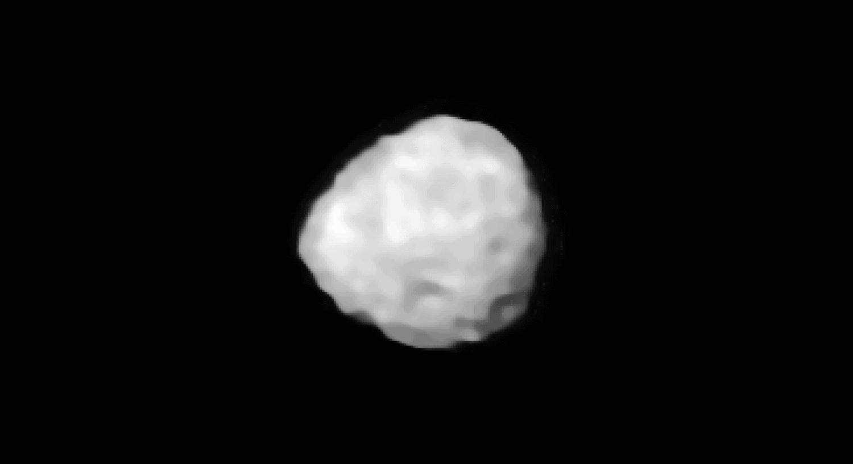 Asteroid 7 Iris - ESO, Vernazza et al.