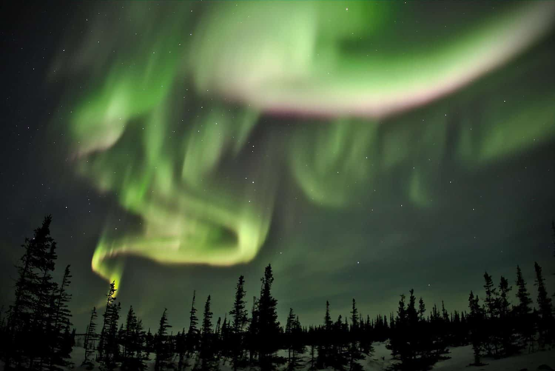 Northern Lights in Canada - Manitoba - Emmanuel Milou via Flickr