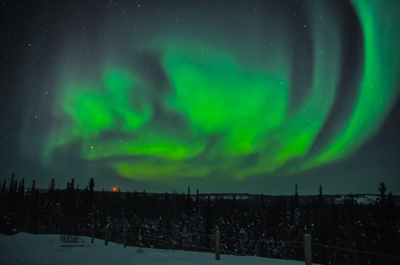 Northern Lights in Canada - Northwest Territories - Joon Im via Flickr