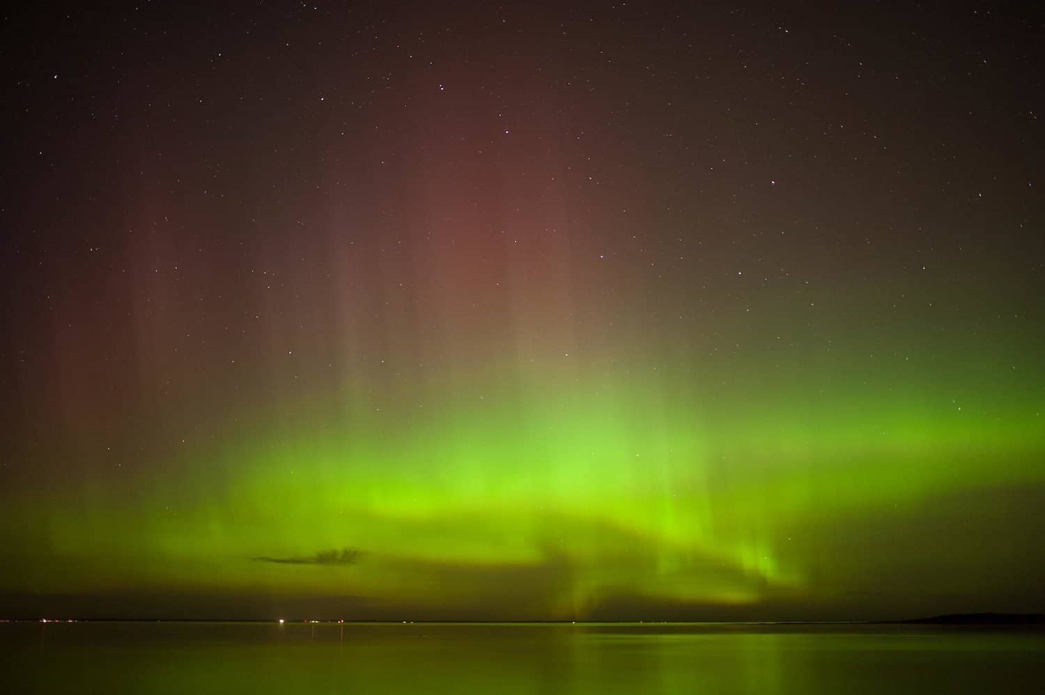 Northern Lights in Canada - Quebec - Simon Hurens via Flickr