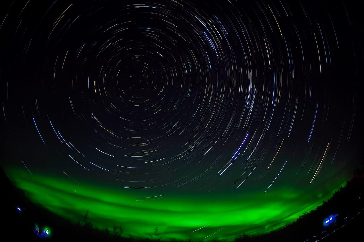 How to See the Northern Lights - Aurora and Star Trails in the Yukon - Naoki Natsume/Ishii via Flickr