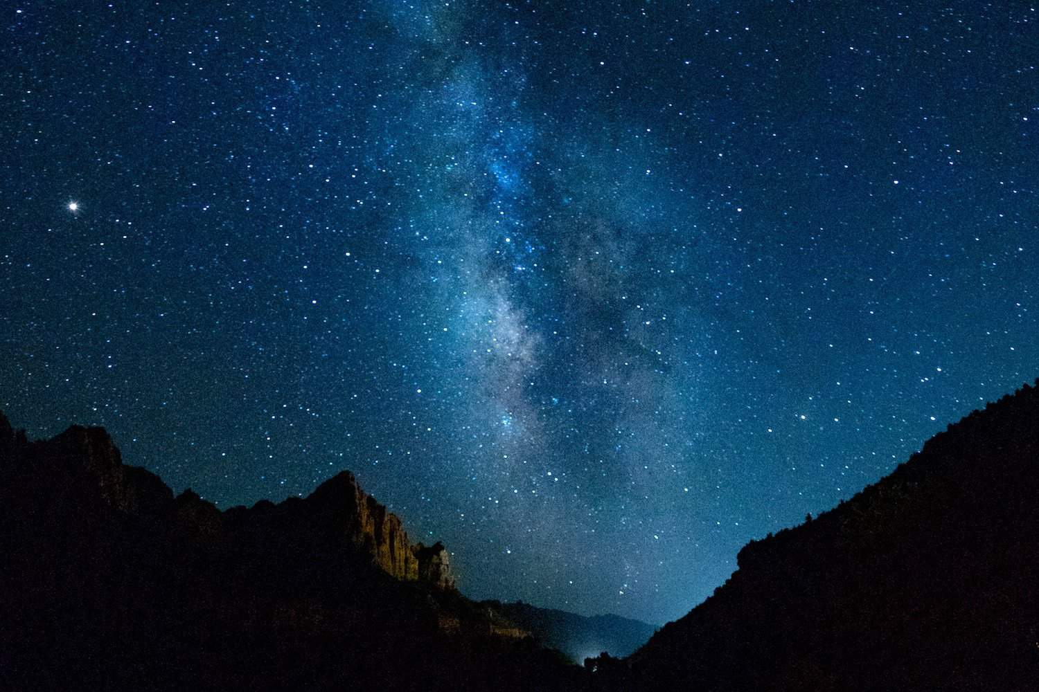 Zion National Park - Milky Way