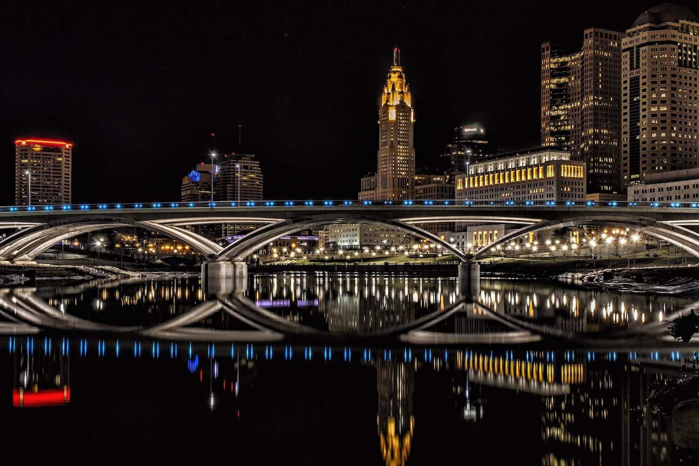 Columbus at Night - Mark Spearman via Flickr