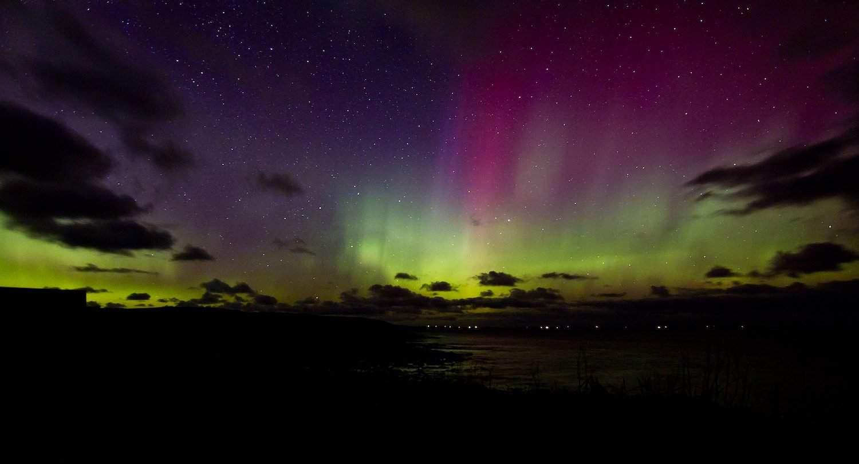 Northern Lights in Scotland - C Hollingsworth via Flickr