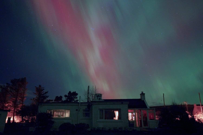 Northern Lights in Scotland - Paul Wordingham via Flickr