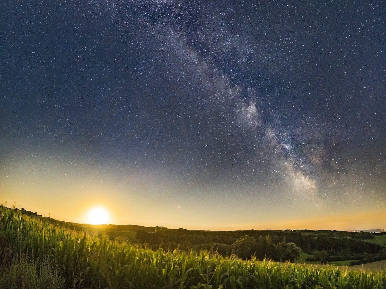 Milky Way & Moonrise