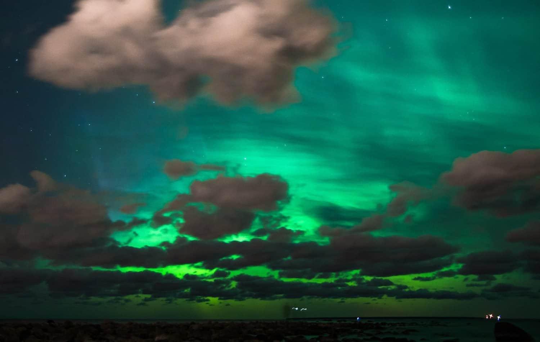 Northern Lights in Estonia - Guillaume Speurt via Flickr
