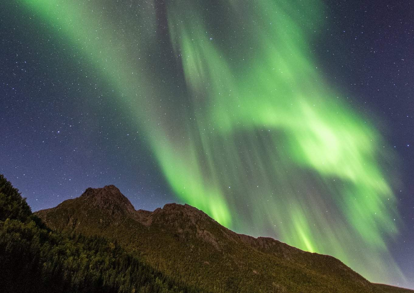 Northern Lights in Europe - Juho Holmi via Flickr